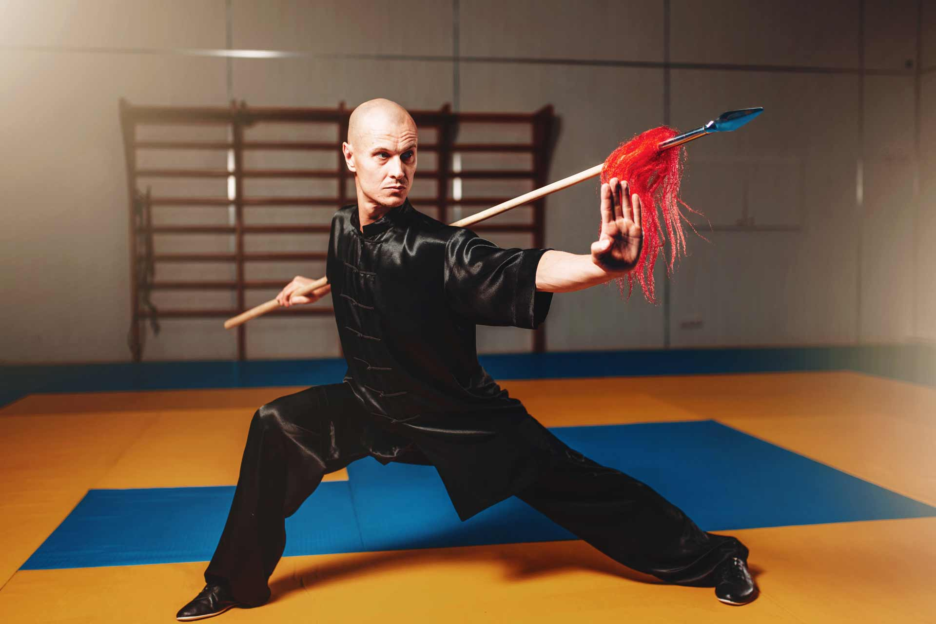Kung-Fu Weapon Training - Kung Fu Coach in Delhi & NCR